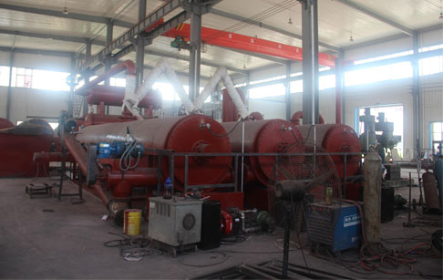 New product Continuous waste tyre pyrolysis machine