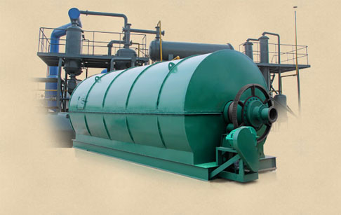 Hot selling waste rubber tire recycling pyrolysis plant