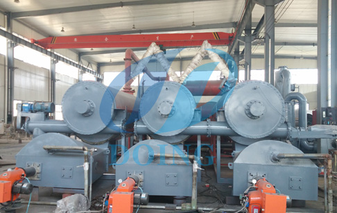 What is advantages of continuous automatic waste tyre oil plant