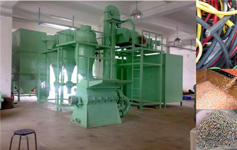 Copper wire granulator machine