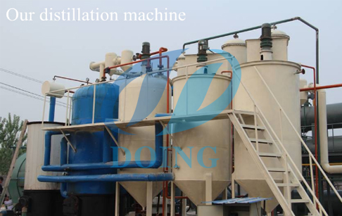 What are the raw materials of oil distillation machine?