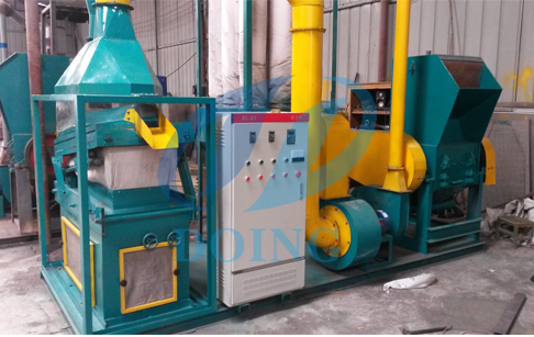 What is the features of high voltage electrostatic separator?