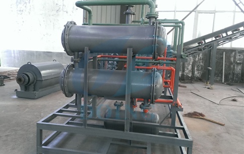 1Ton capacity waste oil distillation equipment is ready for delivery