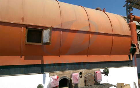 Installation of the waste tyre pyrolysis plant in Egypt successfully
