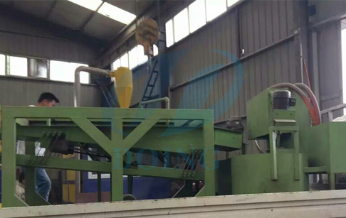 The England customer buy copper wire granulator machine from Doing company