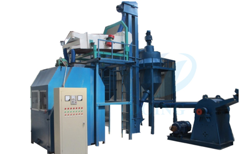 Waste medical blister recycling machine