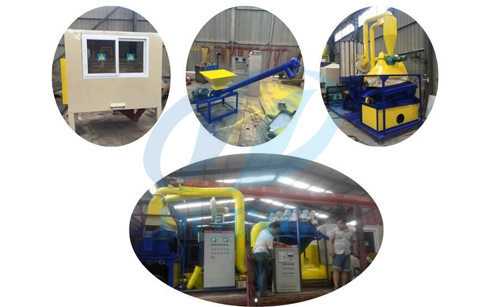 Scrap copper wire recycling machine  will delivered to Baoding ,Hebei ,China