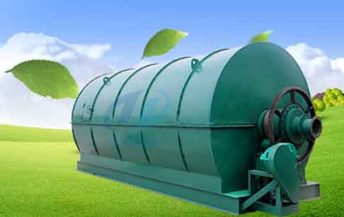 Rubber tire recycling process machine project report