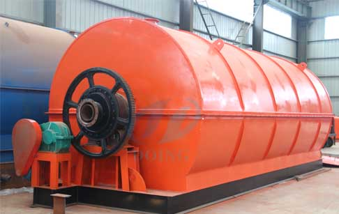 Waste tyre/tire to fuel oil pyrolysis plant