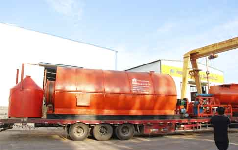 The 22nd set of waste tyre pyrolysis plant delivered to Mexico