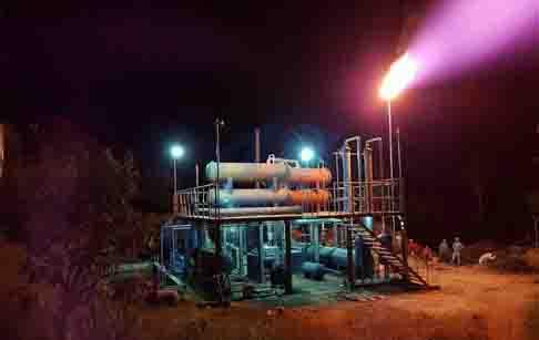 Guatemala customer feedback to waste plastic pyrolysis plant