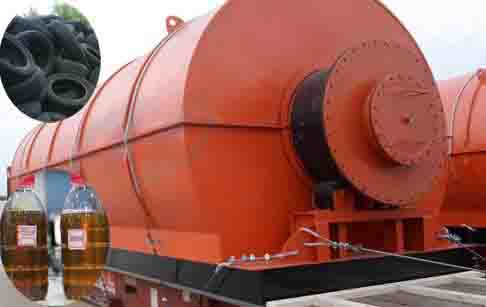 Waste tyre recycling process machine cost