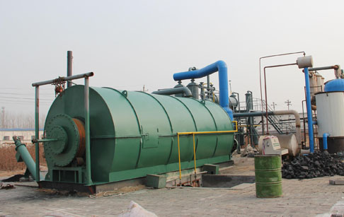 Advanced design waste plastic disposal machine