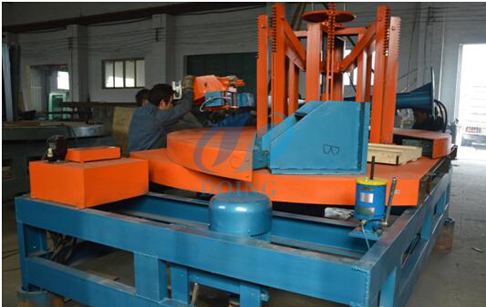 OTR tire Sidewall cutting machine
