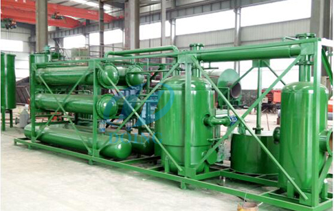 Pyrolysis plant installation in Italy