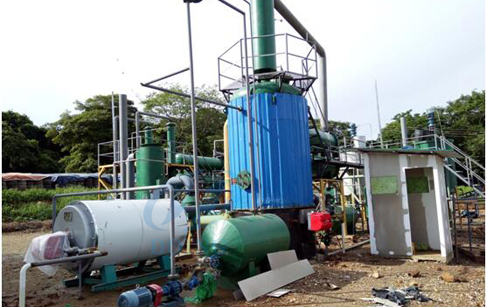 How to make diesel from waste engine oil ?