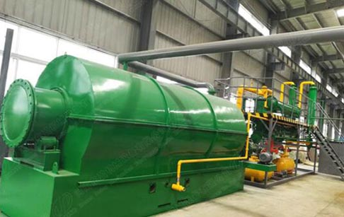 Waste tyre recycling plant project cost ?