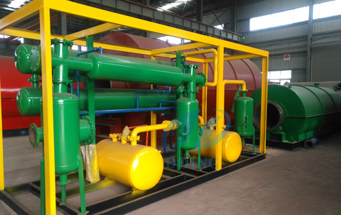 Thailand bought waste plastic pyrolysis plant from Doing company