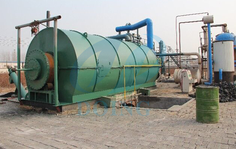 How to build a pyrolysis plant factory?