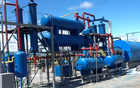 Analysis project of waste Pyrolysis plant