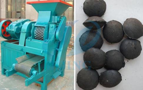 Carbon black pellet machine