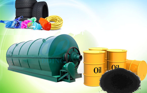 How to turn waste tires into oil ?