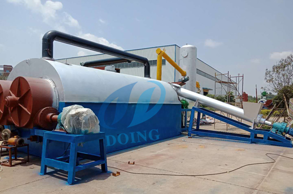 2018 new design fully continuous plastic pyrolysis plant