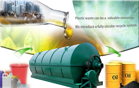 Conversion of waste plastic to fuel oil