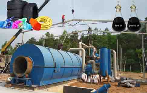 How to maintenance waste tire pyrolysis plant?