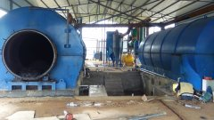 2 sets 10T/D waste tire pyrolysis plant installed in Dali, Yunnan