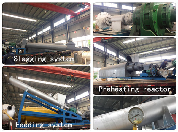 Spain continuous pyrolysis plant