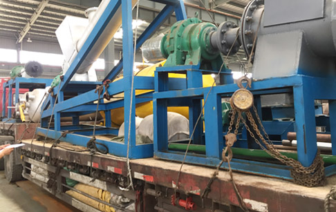 20T/D continuous waste plastic pyrolysis plant delivered to Spain