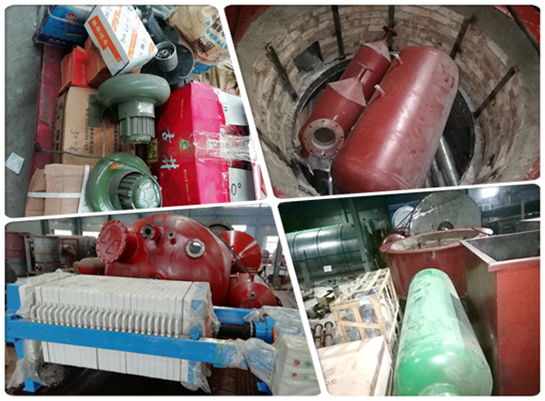 oil refining equipment