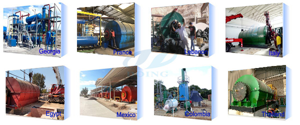 pyrolysis plant project cases
