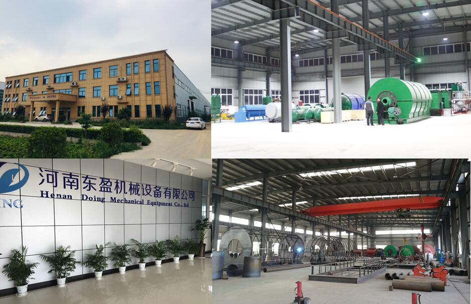 DOING pyrolysis plant manufacturer factory