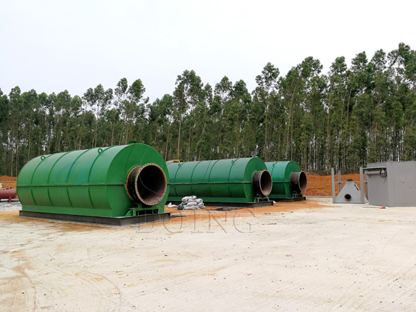 Manufacturer,supplier of Waste tyre pyrolysis plant,factory