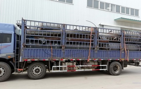 Waste tyre to oil plants delivered to AnHui, China