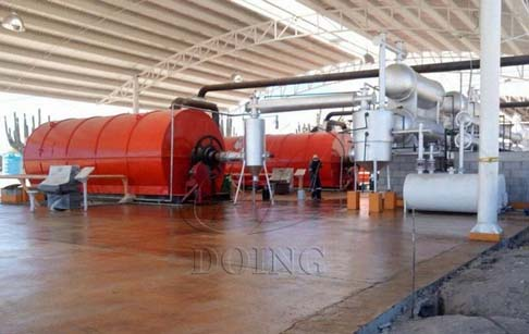 How much does a waste tyre pyrolysis plant for sale cost ?
