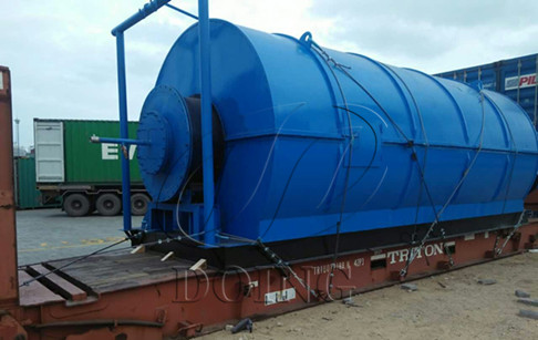 Waste tyre oil extraction and pyrolysis plant for sale