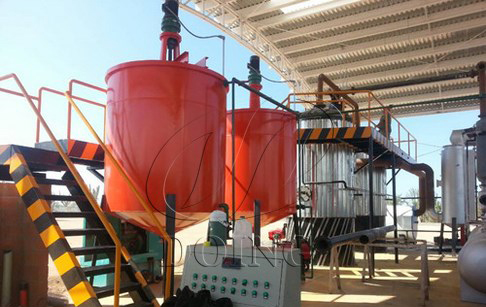 <b>Small capacity waste oil distillation machine</b>