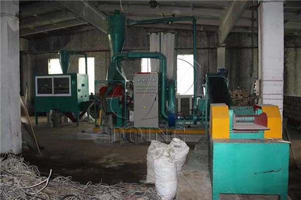 scrap copper wire granulator machine
