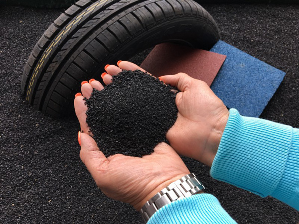 How to start a waste tyre recycling business in small