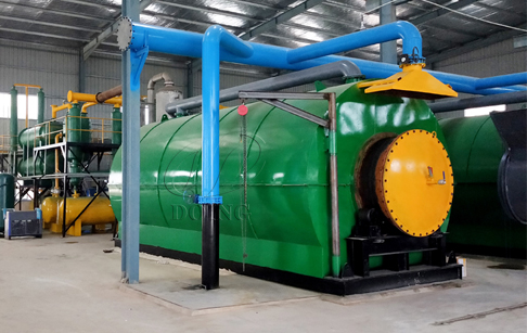 Waste Tire/Plastic Pyrolysis Plant_pyrolysis technology support of
