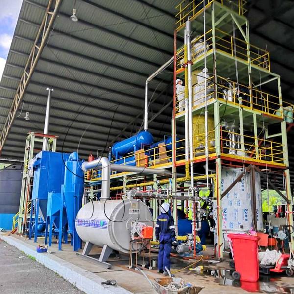 waste oil distillation machine