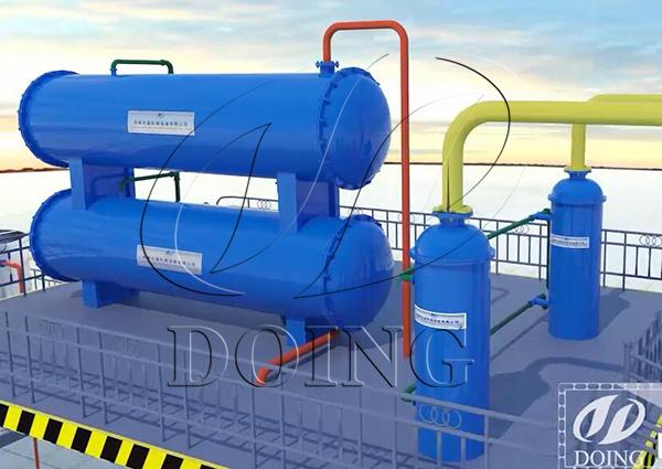 oil distillation machine price