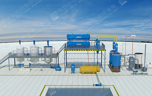 What factors affect the waste oil distillation machine price?