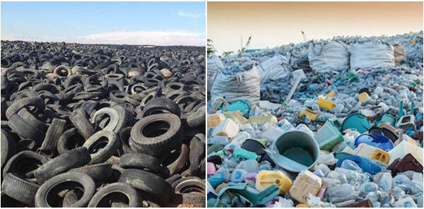 tyre and plastic pyrolysis