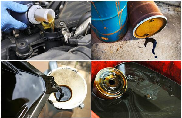 used engine oil recycling