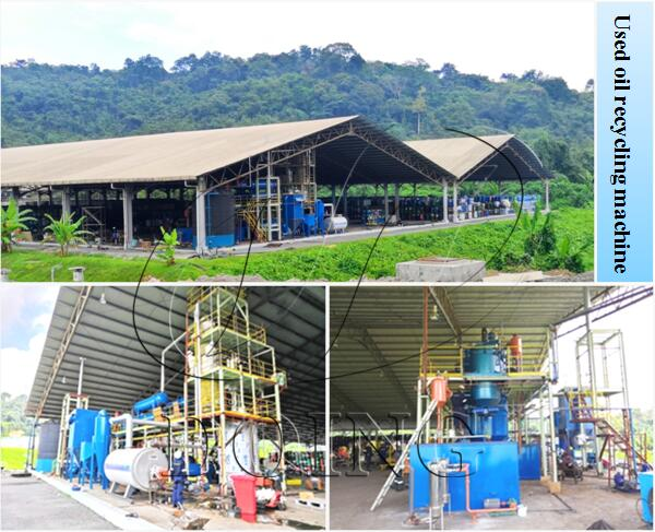 used engine oil recycling machine for sale
