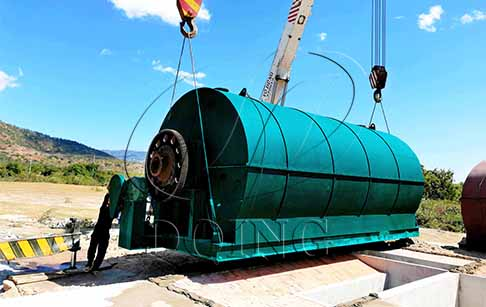How to open a tyre pyrolysis plant in Singapore?